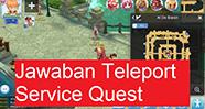 Jawaban Teleport Service Quest, Al De Baran - Ragnarok M: Eternal Love