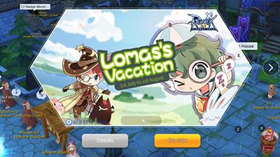 Lomas's Vacation