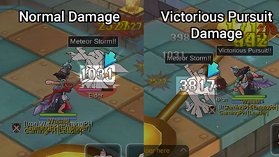 damage comparison